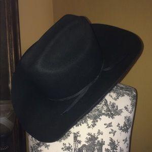 Black, LHC cowboy hat rodeo bill